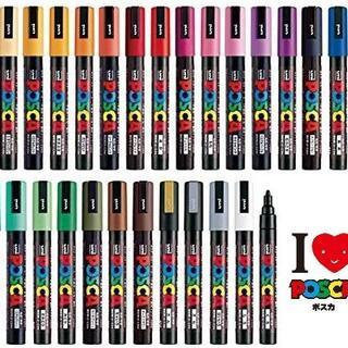 ミツビシエンピツ(三菱鉛筆)の三菱鉛筆  ポスカ 中字 フル全29色セット 新品(ペン/マーカー)