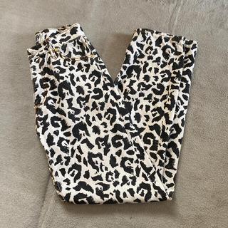バレンシアガ(Balenciaga)の名作 Eytys leopard buggy pants 24(デニム/ジーンズ)