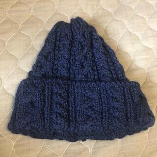 ビームス(BEAMS)のニット帽 ハイランド2000 ネイビー(ニット帽/ビーニー)