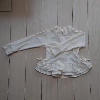 プティマイン(petit main)の80cm プティマイン ラッシュガード(白)(水着)