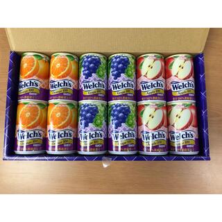 アサヒ(アサヒ)のウェルチ 果汁100%ジュース オレンジ リンゴ グレープ(ソフトドリンク)
