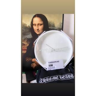 オフホワイト(OFF-WHITE)のikea virgil 時計(掛時計/柱時計)