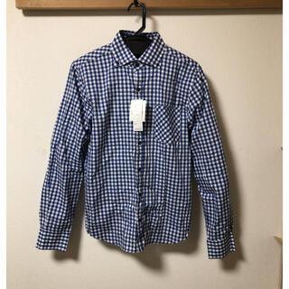 ギャルソンウェーブ(Garcon Wave)のgarçon wave  チェックシャツ ブルー 青(シャツ)