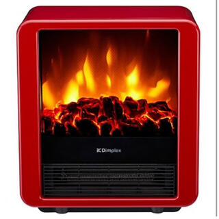 電気暖炉 ファンヒーター内蔵 MiniCube レッド MNC12RJ (電気ヒーター)