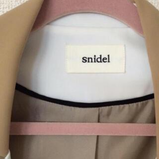 スナイデル(snidel)のスナイデルジャケット(ノーカラージャケット)