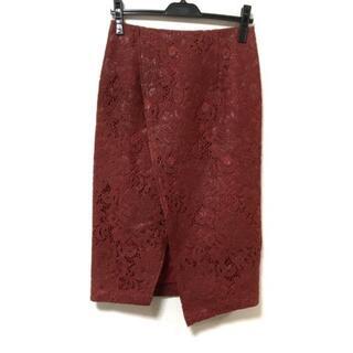 グレースコンチネンタル(GRACE CONTINENTAL)のダイアグラム スカート サイズ36 S美品  -(その他)