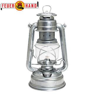 ペトロマックス(Petromax)のフュアーハンド ランプ ハリケーン ランタン シルバー(ライト/ランタン)