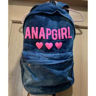 アナップ(ANAP)のANAP リュック デニム バックパック(リュック/バックパック)