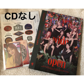 ウェストトゥワイス(Waste(twice))のtwice I can't stop  me アルバム(CDなし)(K-POP/アジア)