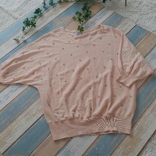 アナトリエ(anatelier)のAnatelier★サーモンピンクのセーター(ニット/セーター)