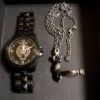 ディールデザイン(DEAL DESIGN)のいきなり値下げ❗️DEALDESIGN ガゼット レア時計 アクセセット(腕時計(アナログ))