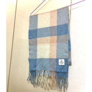 ランバンオンブルー(LANVIN en Bleu)のLanvin カシミヤマフラー(マフラー/ショール)