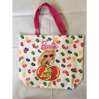 バービー(Barbie)のBarbie×ジェリーベリーコラボ トートバッグ 新品未使用(トートバッグ)