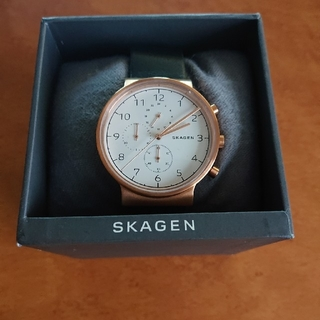 SKAGRN スカーゲン メンズ腕時計 アンカー skw6371