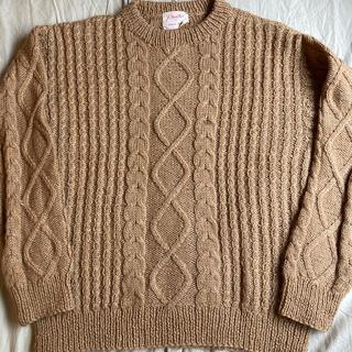 トーガ(TOGA)のレア色 60s〜70s Hand Knit by Magaret Madren(ニット/セーター)