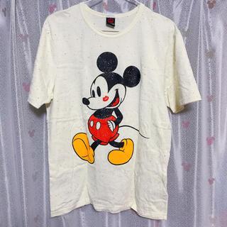 ベビードール(BABYDOLL)のLサイズ ベビードール Tシャツ ミッキー お揃い(Tシャツ(半袖/袖なし))