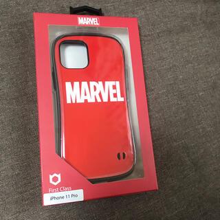 マーベル(MARVEL)の正規品 iFace MARVEL iPhone 11plo専用 赤 ロゴ(iPhoneケース)