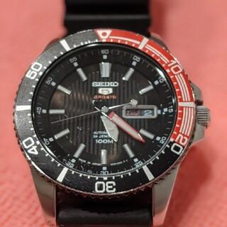 セイコー(SEIKO)のセイコー5スポーツ SEIKO5  SRP557J1 コーク コーラ ダイバー(腕時計(アナログ))