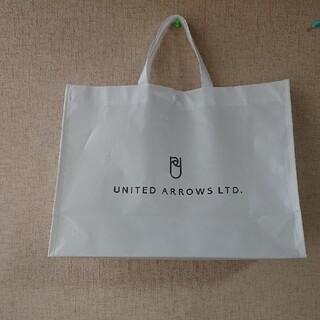 ユナイテッドアローズ(UNITED ARROWS)のショップバック トートバッグ 白(トートバッグ)