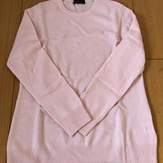 カシミヤ 100%  ニット ピンク サイズ38(ニット/セーター)