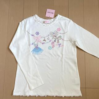メゾピアノ(mezzo piano)のメゾピアノ 140【新品】♡バレエ♡(Tシャツ/カットソー)