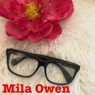 ミラオーウェン(Mila Owen)の送料込 ミラオーウェン 伊達メガネ めがね メガネ サングラス(サングラス/メガネ)