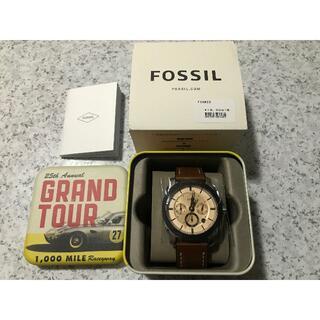 フォッシル(FOSSIL)の新品☆FOSSIL MACHINE FS5620 ブラウン メンズ腕時計(腕時計(アナログ))