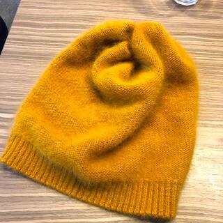 ロンハーマン(Ron Herman)の引越しセール!【2回使用の美品】KIJIMA TAKAYUKIのニット帽(ニット帽/ビーニー)