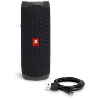 フリップ(Flip)のJBL Bluetooth スピーカーJBLFLIP5BLK ブラック(スピーカー)