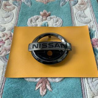 ニッサン(日産)のエクストレイル エンブレム T32 ブラックメッキ(車外アクセサリ)