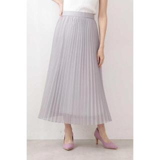 プロポーションボディドレッシング(PROPORTION BODY DRESSING)の《新品未使用》オーガンプリーツスカート(ロングスカート)