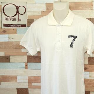 オーシャンパシフィック(OCEAN PACIFIC)の【OCEAN PACIFIC】 美品 タグ付き オーシャンパシフィック 半袖ポロ(ポロシャツ)