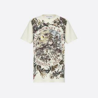 クリスチャンディオール(Christian Dior)のディオール 2020SS リネン&コットンTシャツ(Tシャツ(半袖/袖なし))