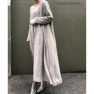 アメリヴィンテージ(Ameri VINTAGE)のAMERI SARAH 2WAY FLARE DRESS(ロングワンピース/マキシワンピース)