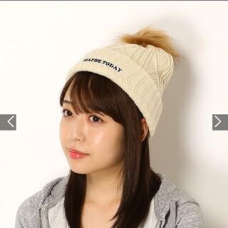 ロキシー(Roxy)の売り切れ続出 新品未使用 ロキシー ROXY ニット帽(ニット帽/ビーニー)
