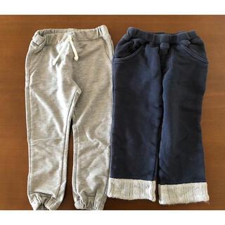 男の子 長ズボン 2枚 95 スウェット パンツ(パンツ/スパッツ)
