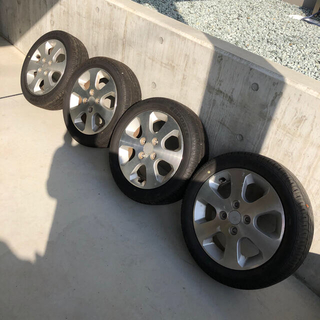 スズキ(スズキ)のタイヤ アルミホイールセット14インチ スズキ ワゴンR(タイヤ・ホイールセット)