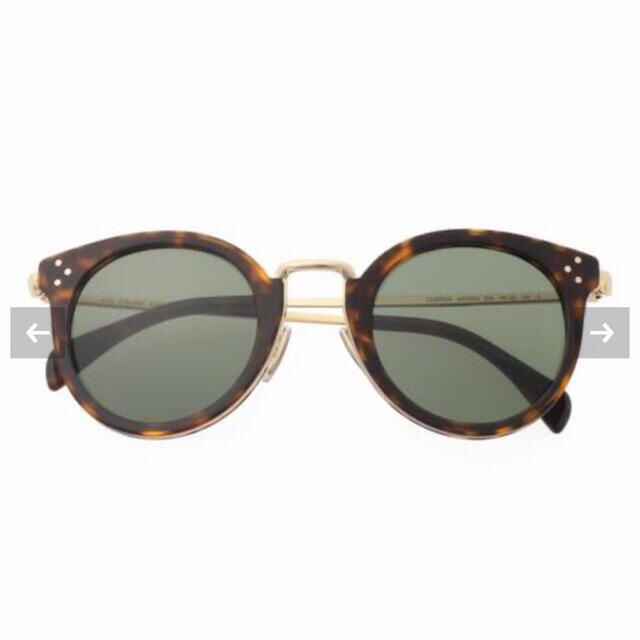 DEUXIEME CLASSE(ドゥーズィエムクラス)の極美品 CELINE  セリーヌ サングラス ブラウン DEUXIEME  レディースのファッション小物(サングラス/メガネ)の商品写真