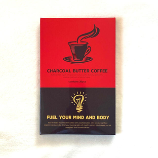 チャコールコーヒー バターコーヒー 炭コーヒー ダイエット MCTオイル(コーヒー)