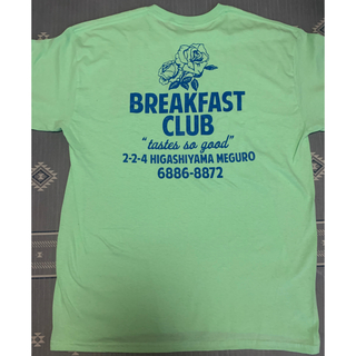 ワコマリア(WACKO MARIA)のBreakfast club Tokyo Tee Mint Green L(Tシャツ/カットソー(半袖/袖なし))