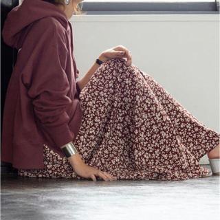 コーエン(coen)のcoen  花柄 フラワープリント ロングスカート(ロングスカート)