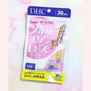 ディーエイチシー(DHC)の✨新品✨DHC 香るブルガリアンローズカプセル✨(口臭防止/エチケット用品)