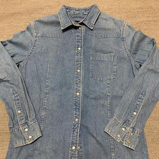 マカフィー(MACPHEE)のMACPHEE デニムシャツ サイズ 38(シャツ/ブラウス(長袖/七分))