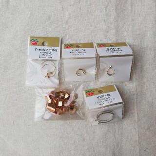 キワセイサクジョ(貴和製作所)のフープイヤリング/イヤーカフ アクセサリーパーツ(各種パーツ)