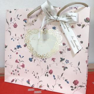 レメルヴェイユーズラデュレ(Les Merveilleuses LADUREE)のショップ袋 1枚(ショップ袋)