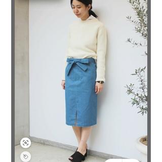 エディットフォールル(EDIT.FOR LULU)のedit for lulu denim tight skirt(ひざ丈スカート)