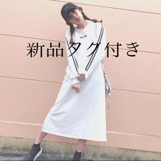 エヌエムビーフォーティーエイト(NMB48)の新品タグ付き amiuu wink ワンピース(ロングワンピース/マキシワンピース)