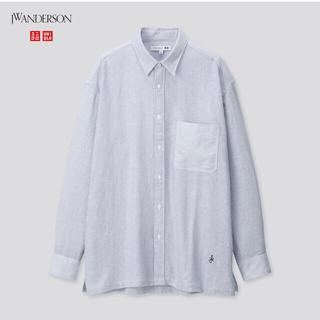 ジェイダブリューアンダーソン(J.W.ANDERSON)の【M】UNIQLO jw Anderson オーバーサイズシャツ (シャツ)