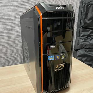エイサー(Acer)のAcer AG3610 デスクトップPC i7 外付HDD3TB付き!(デスクトップ型PC)