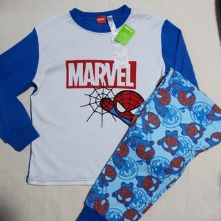マーベル(MARVEL)の男の子 MARVEL  スパイダーマン 長袖 パジャマ 120(パジャマ)